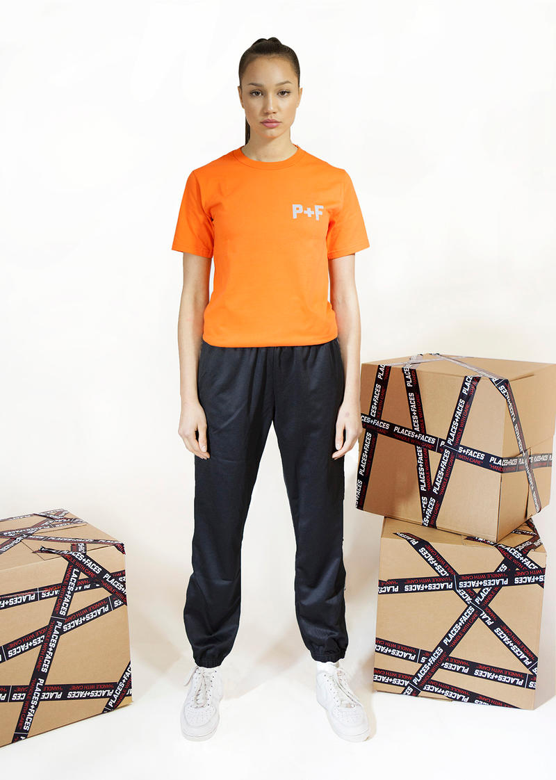 Places+Faces Spring/Summer 2018 Lookbook T-Shirt Orange