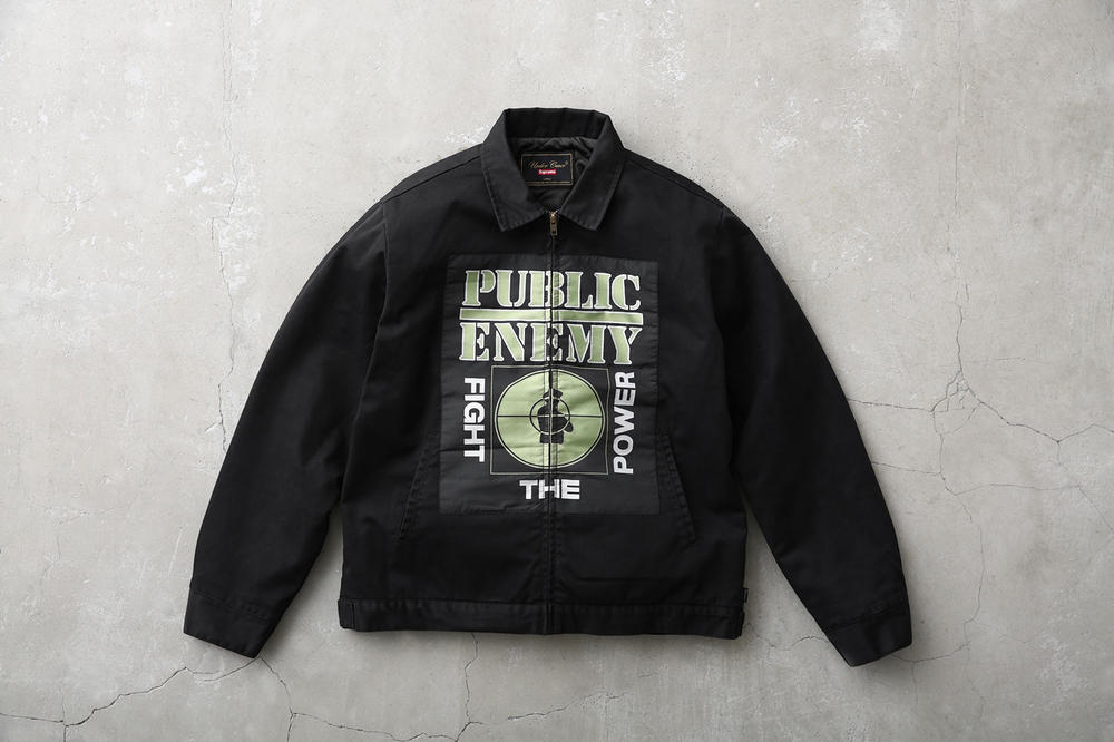 Supreme Public Enemy UNDERCOVER Jacket Black