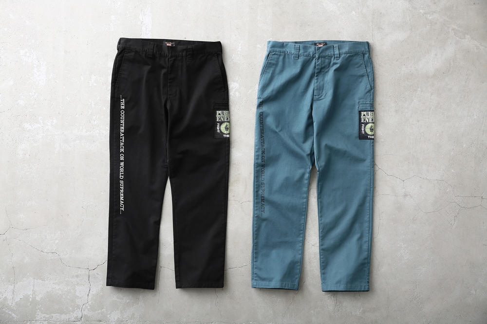 Supreme Public Enemy UNDERCOVER Pants Blue Black