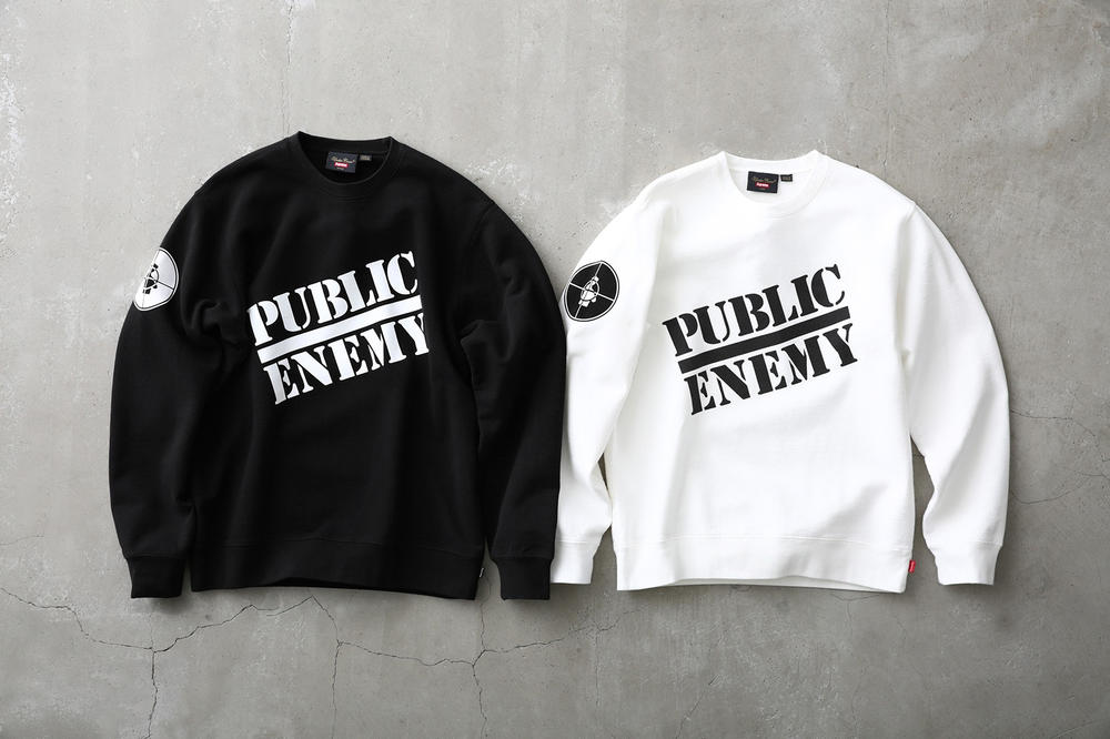 Supreme Public Enemy UNDERCOVER T-Shirt Black White