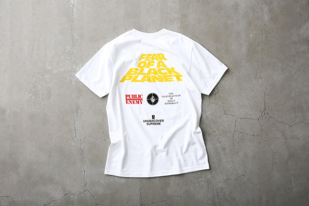 Supreme Public Enemy UNDERCOVER T-Shirt White
