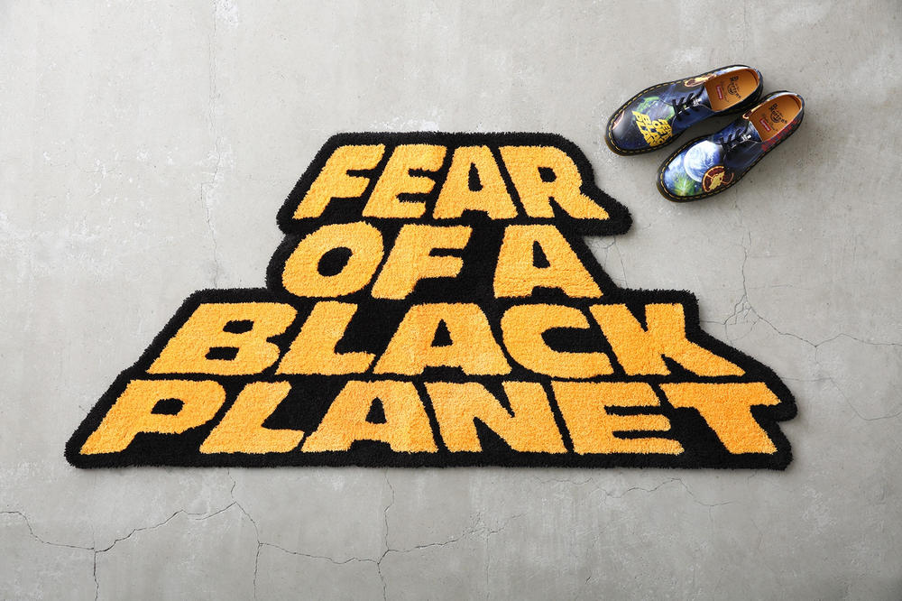 Supreme Public Enemy UNDERCOVER Fear of Black Planet Rug