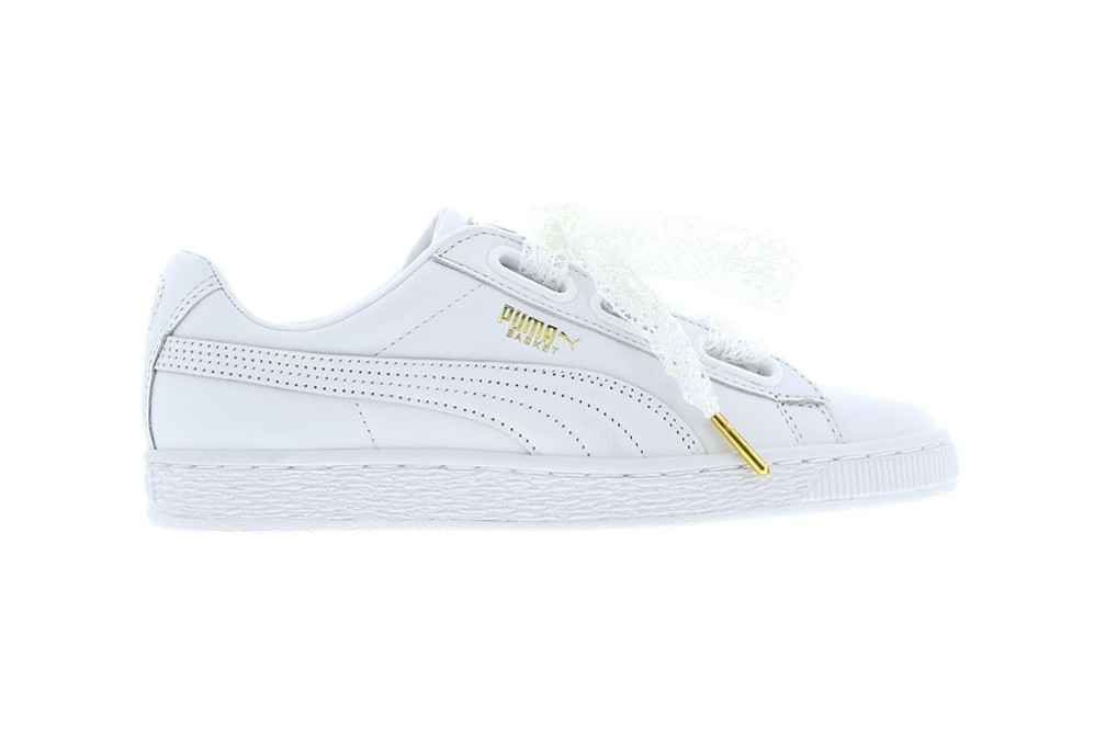 PUMA Releases Basket Heart Lace in Two