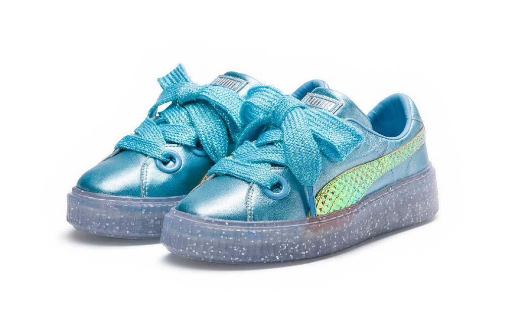 PUMA x Sophia Webster Princess Collection Platform Teal