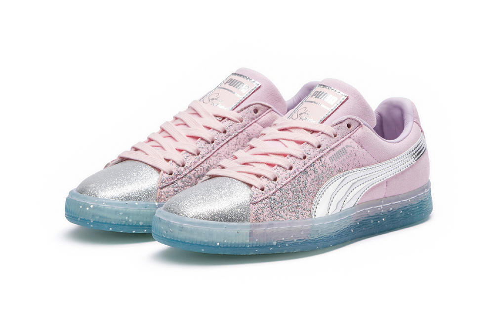 PUMA x Sophia Webster Princess Collection Suede Pink