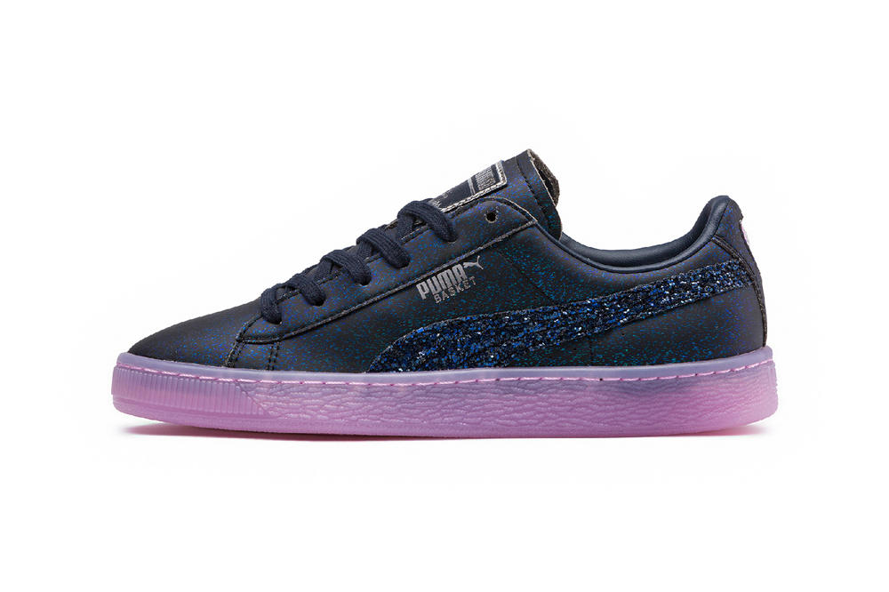 PUMA x Sophia Webster Princess Collection Basket Black Purple