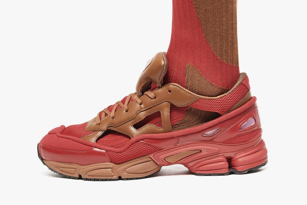 Raf Simons x adidas Ozweego Replicant Scarlet Red/Rust