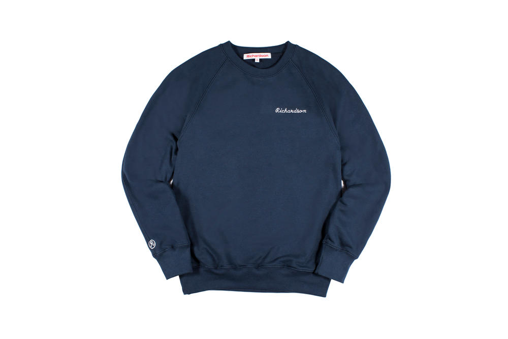 Richardson Spring/Summer 2018 Collection Crew Sweater Midnight Blue