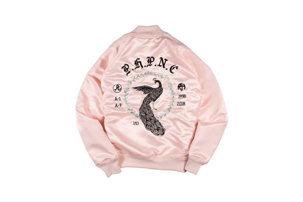 Richardson Spring/Summer 2018 Collection Souvenir Bomber Jacket Pink
