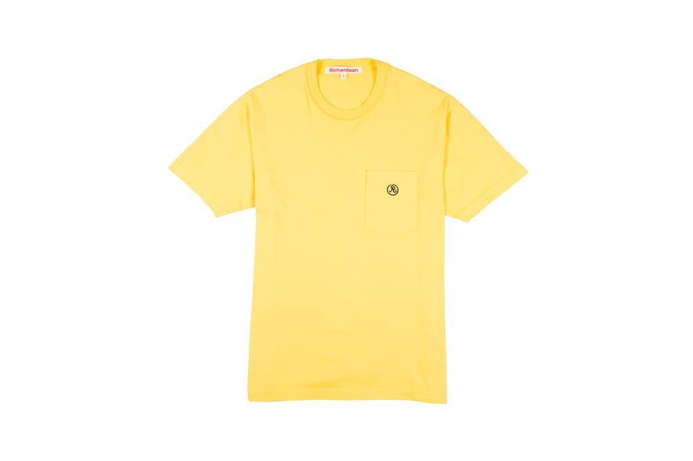 Richardson Spring/Summer 2018 Collection Glyph Pocket T-Shirt Saffron