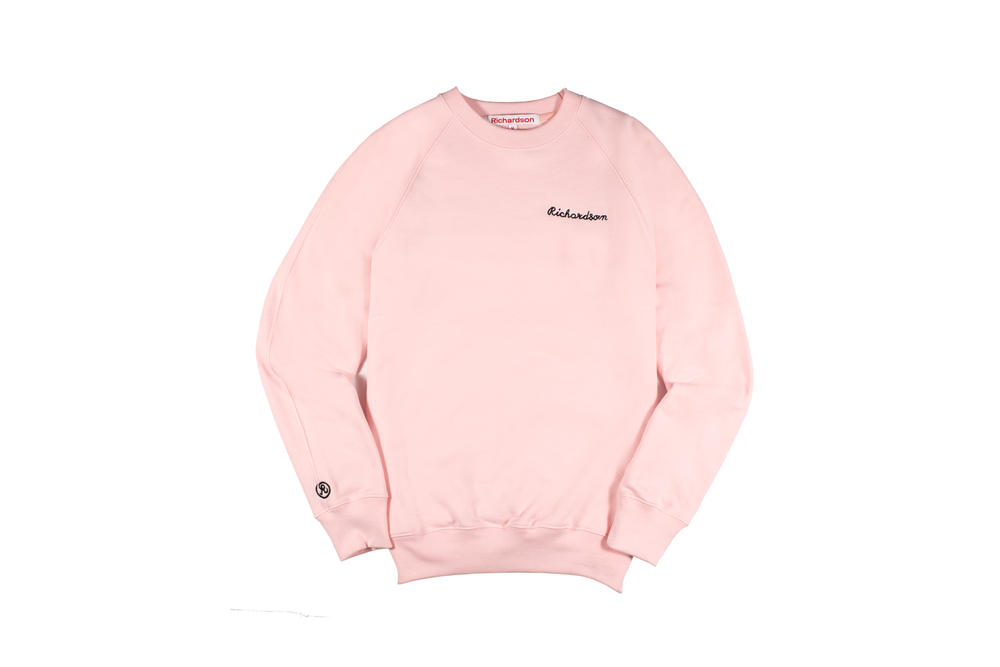 Richardson Spring/Summer 2018 Collection Crew Sweater Pink