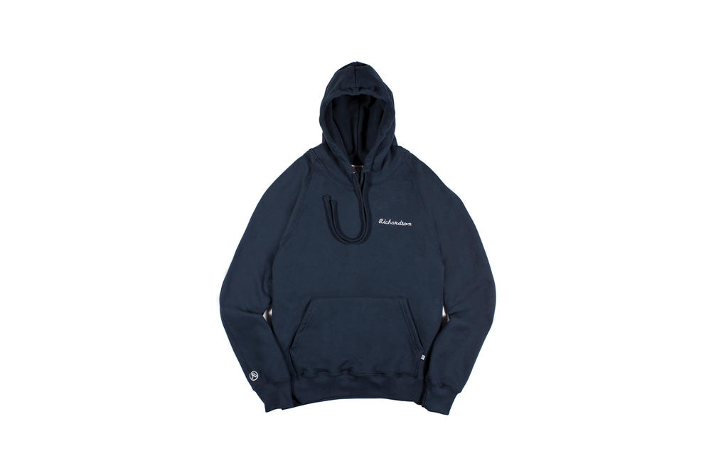 Richardson Spring/Summer 2018 Collection Simple Hoodie Midnight Blue
