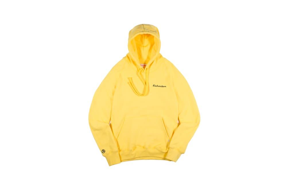 Richardson Spring/Summer 2018 Collection Simple Hoodie Saffron
