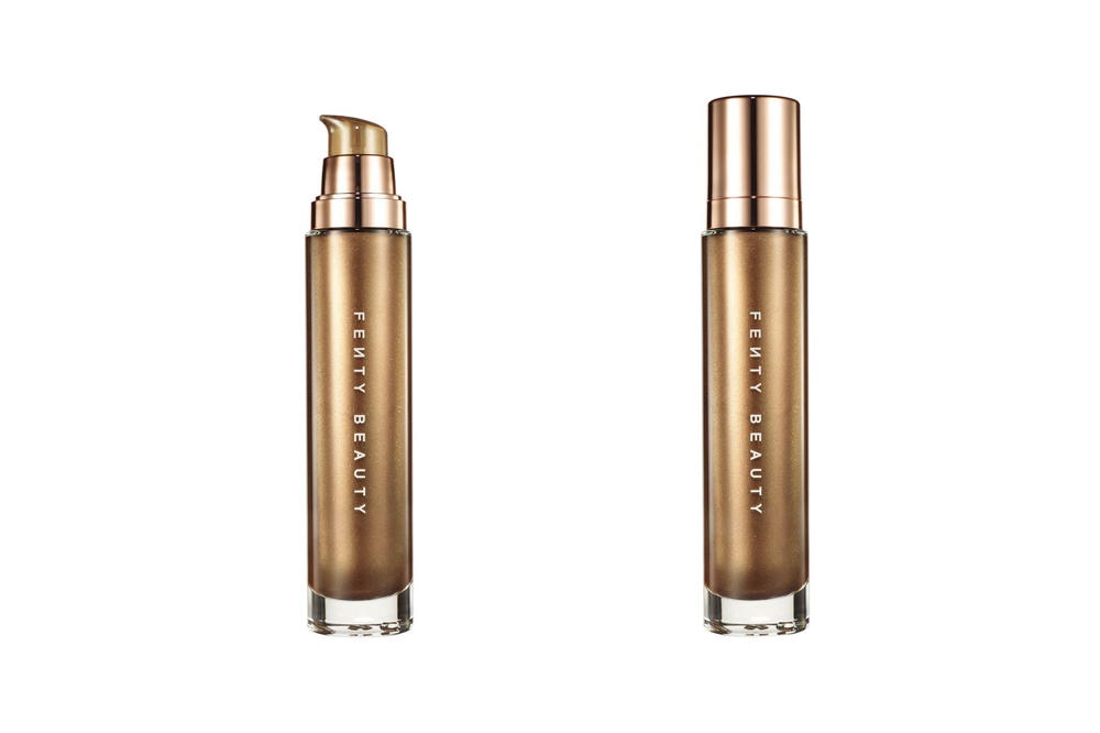 Rihanna Fenty Beauty Beach Please Body Lava Luminzer Brown Sugar