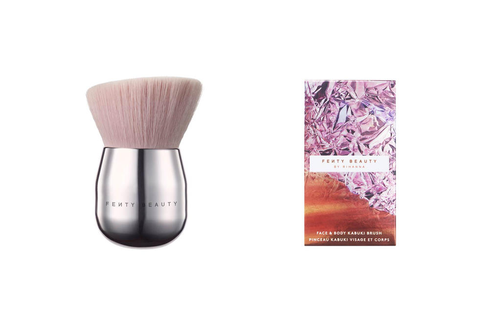 Rihanna Fenty Beauty Beach Please Face Body Kabuki Brush