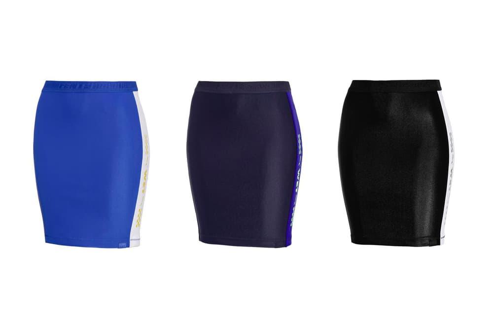Rihanna Fenty PUMA Spring Summer 2018 Biker Skirt Black Blue