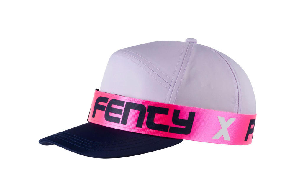 Rihanna Fenty PUMA Spring Summer 2018 Giant Strap Hat Pink Black