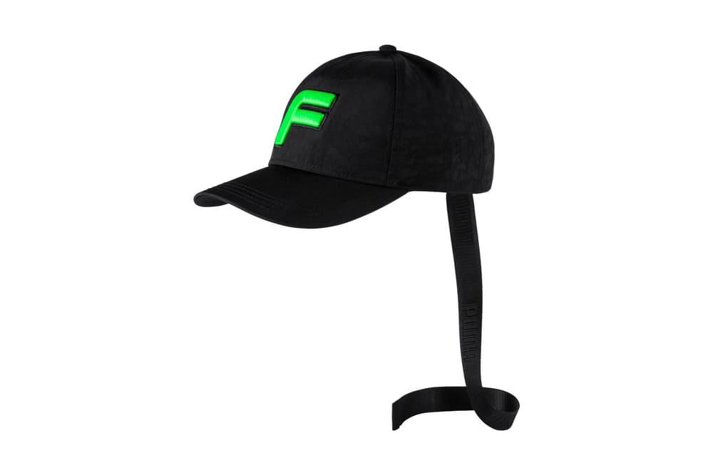 Rihanna Fenty PUMA Spring Summer 2018 F Hat Black Green