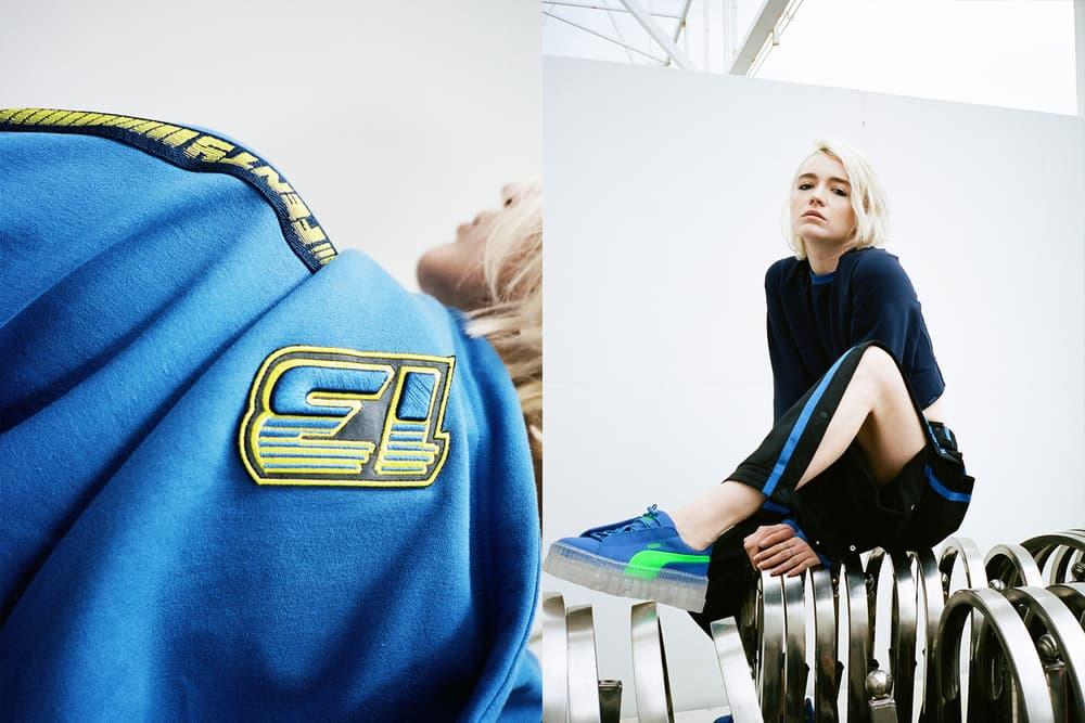 Rihanna Fenty PUMA HBXWM HBX Editorial Laced Sweatshirt Blue