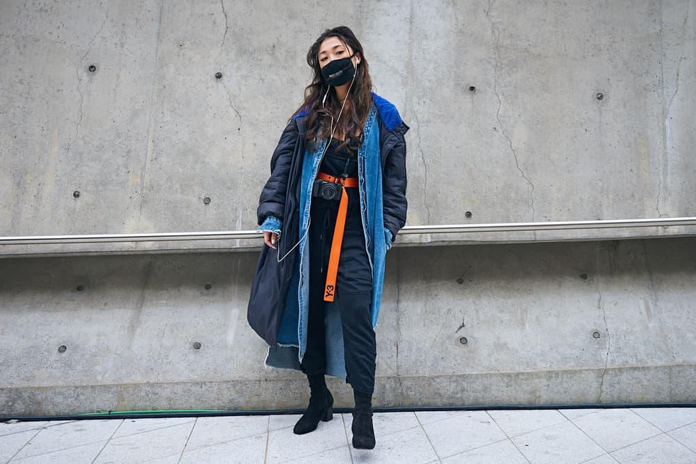 seoul fashion week street style nike virgil abloh air jordan 1 gucci balenciaga kappa