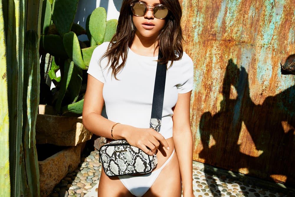 Sofia Richie Quay Australia Spring 2018 Festival Campaign Sunglasses Bag Collection