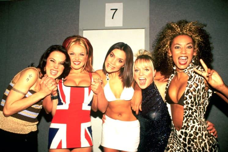 Spice Girls Reunion Tour Four Members Mel B Geri Halliwell Emma Bunton Melanie C Victoria Beckham Simon Fuller