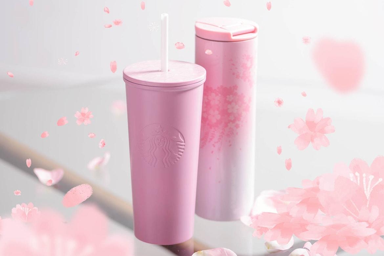 85cf270c0d7 Starbucks Millennial Pink Cherry Blossom Cups   HYPEBAE