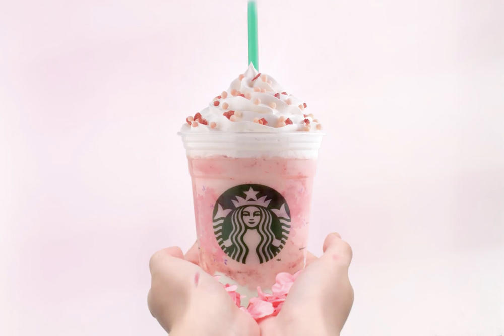 starbucks pink drink strawberry honey blossom creme frappuccino instagram where to buy hong kong thailand