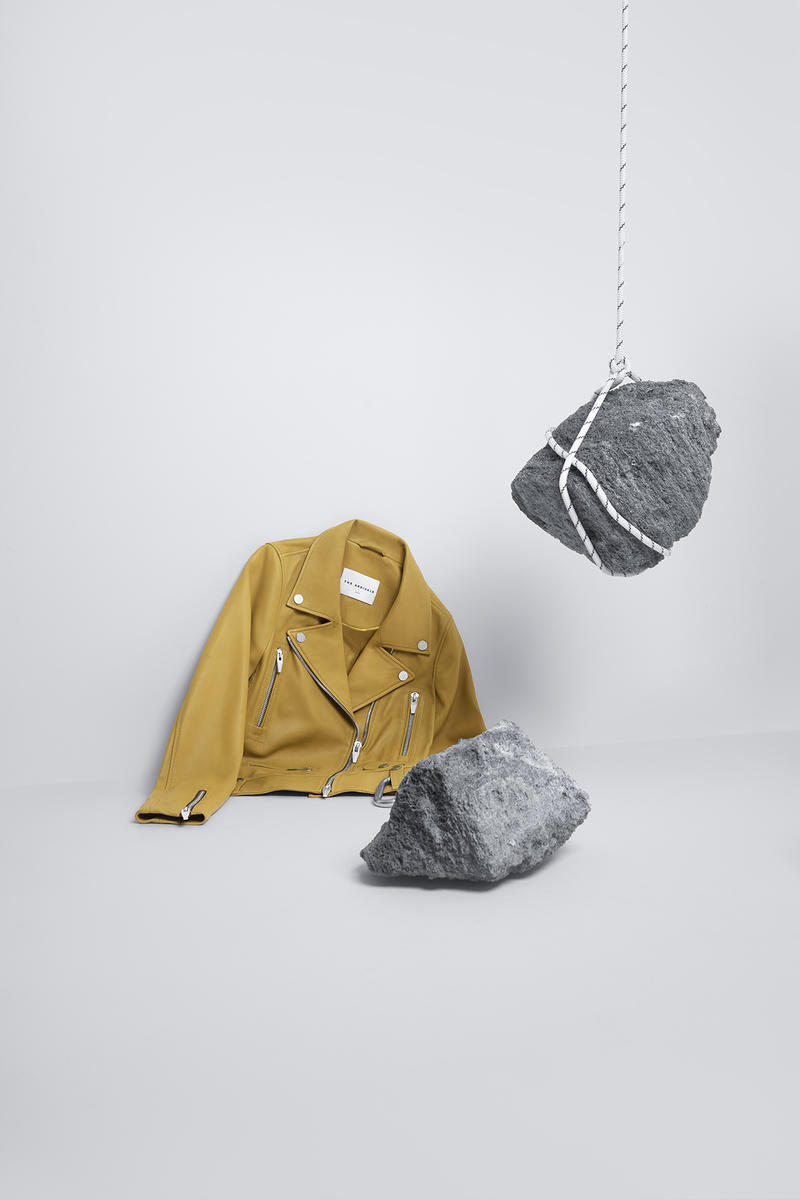 the arrivals mountain wear parkas bombers unisex tees leather jackets yellow