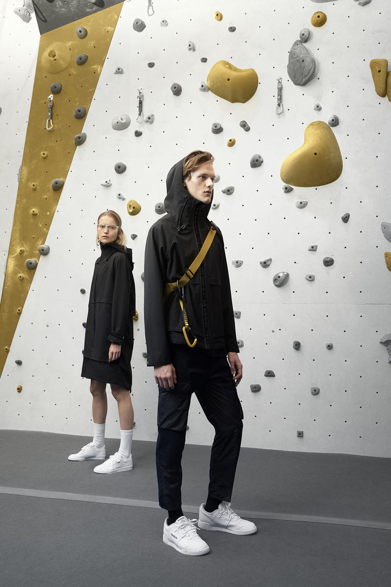 the arrivals mountain wear parkas bombers unisex tees leather jackets black jackets rock climbing