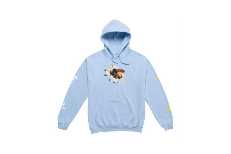 Tyler The Creator Golf Wang Flower Boy Hoodie Blue