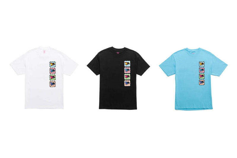 Tyler The Creator Golf Wang Flower Boy T-Shirts Black White Blue