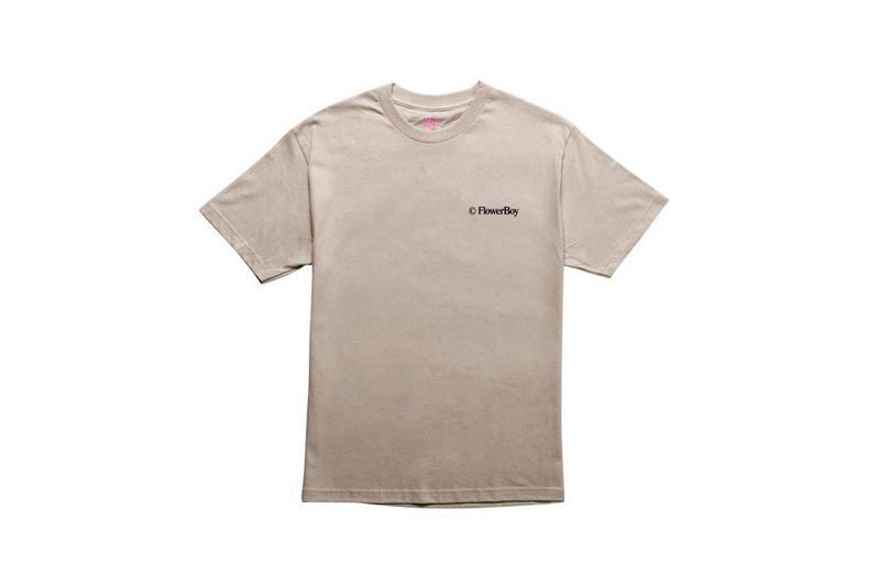 Tyler The Creator Golf Wang Flower Boy T-Shirt Tan