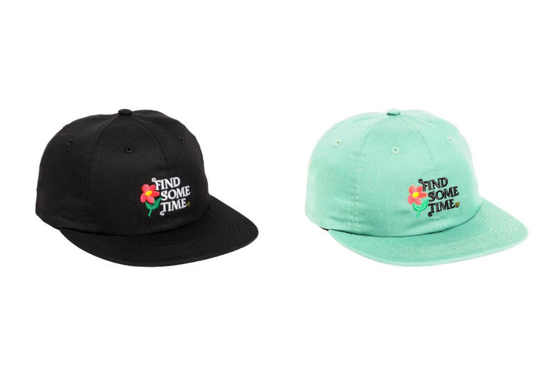 Tyler The Creator Golf Wang Flower Boy Find Some Time Hat Black Green