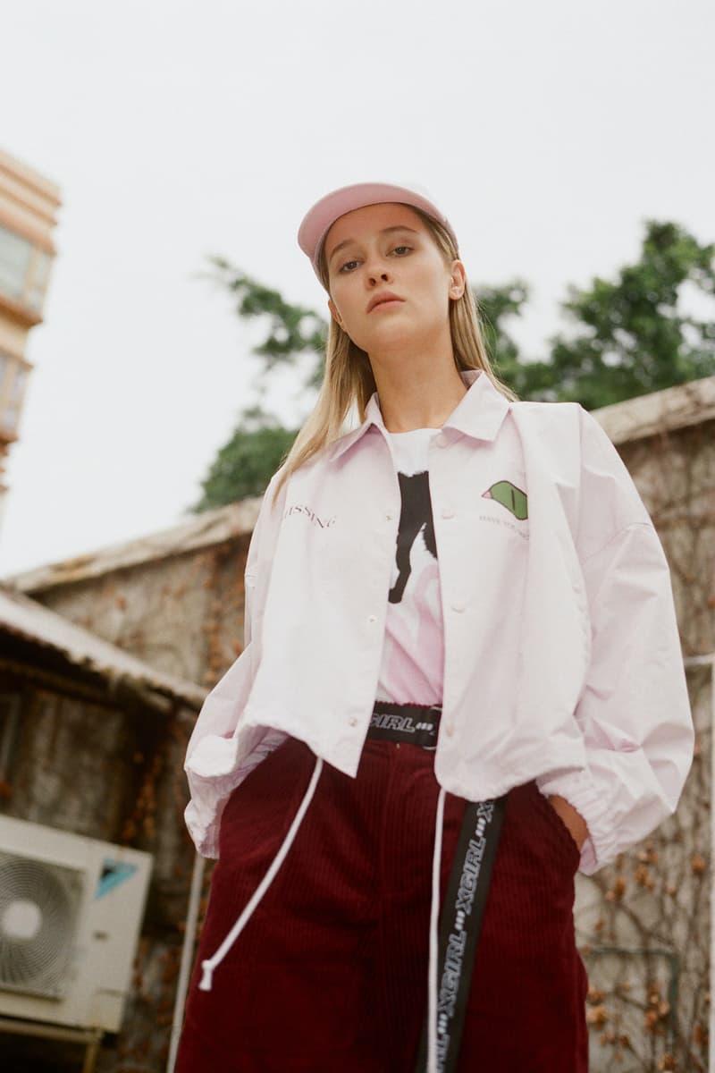 undercover jun takahashi hbxwm hbx editorial pink coach jacket dad cap