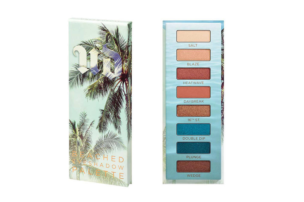 "Full Urban Decay ""Beached"" Makeup Collection Eyeshadow Bronzer Lipstick Eyeliner"