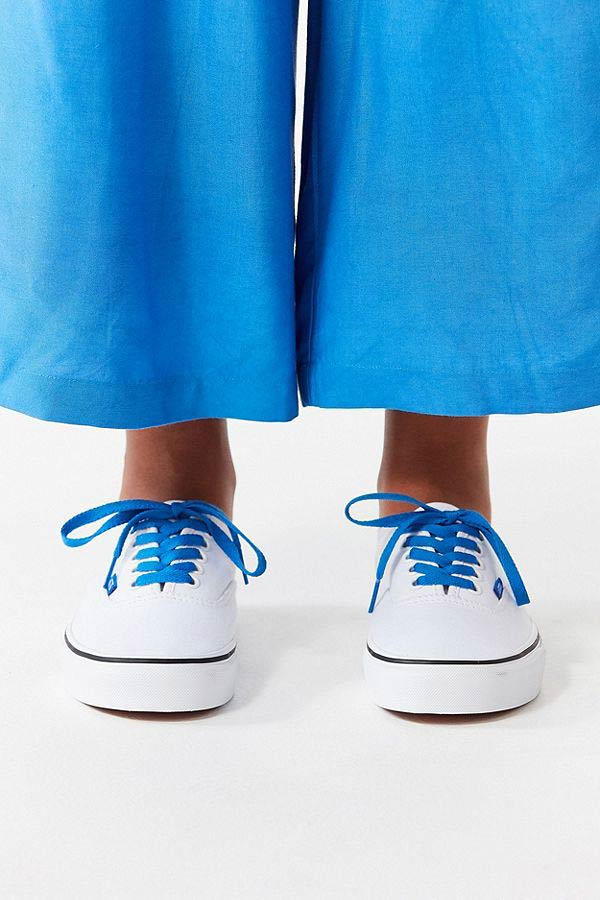 Vans Authentic Sketch Sidewall Sky Blue