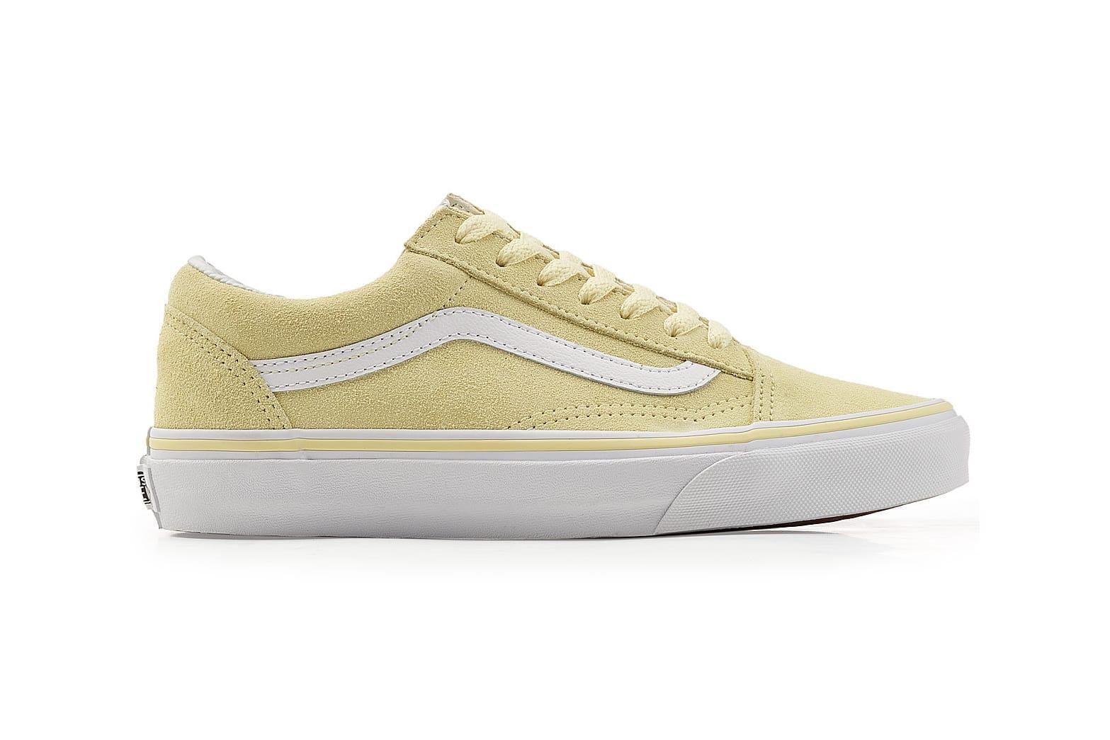 Vans drops Pastel Yellow Suede Old