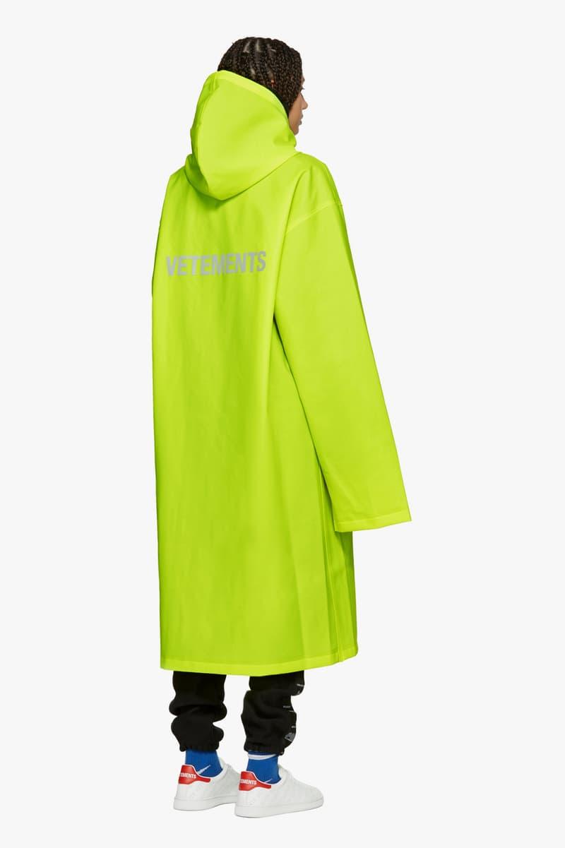 Shop Vetements Spring/Summer Collection Drop Hoodie Raincoat Deconstructed Demna Gvasalia Swimsuit