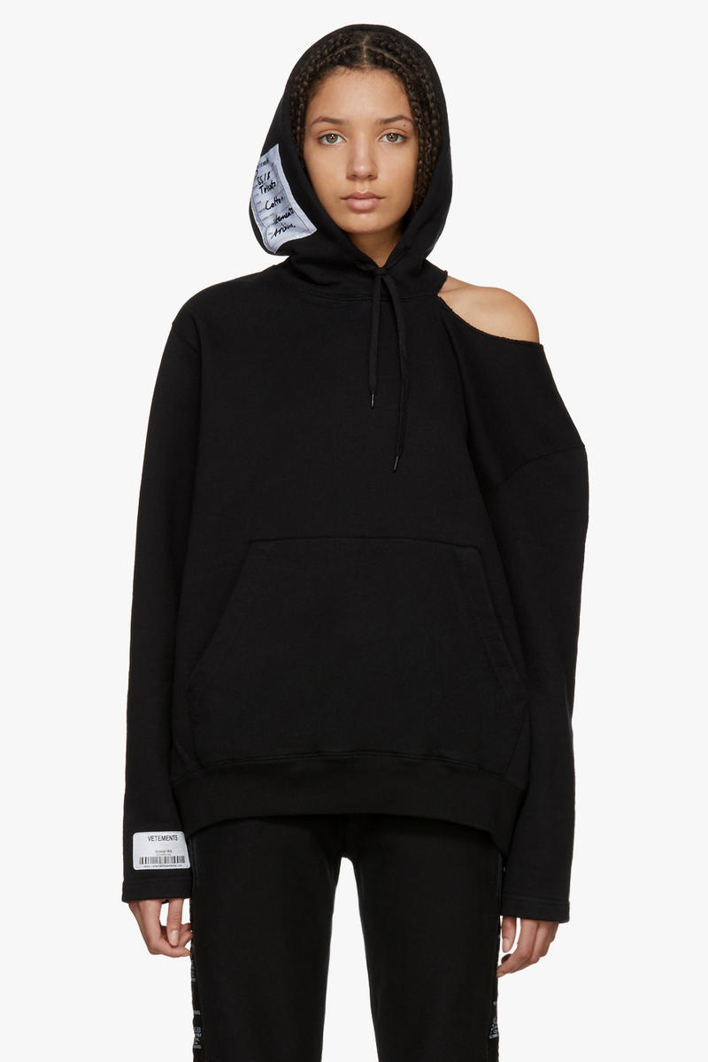 Vetements Spring/Summer Collection Drop Hoodie