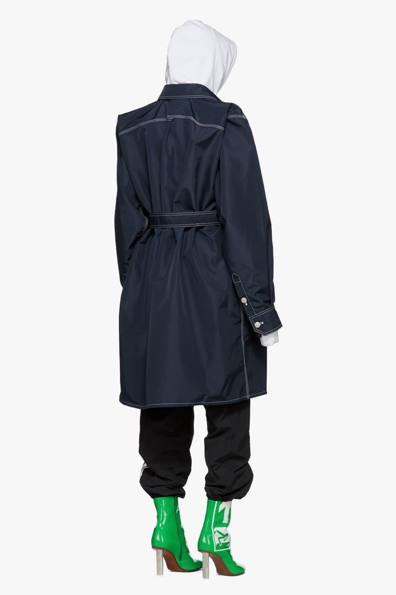 Vetements Spring/Summer Collection Drop Denim Coat