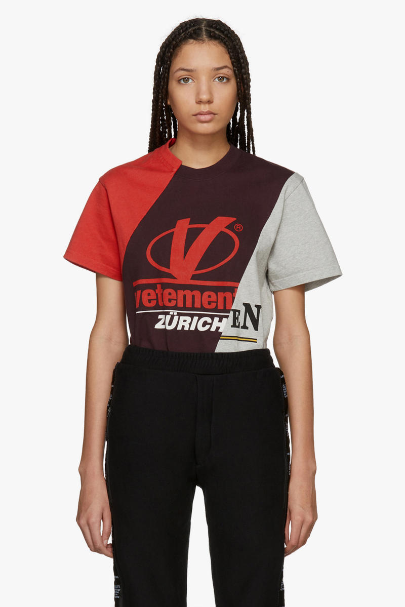 Vetements Spring/Summer Collection Drop T-shirt