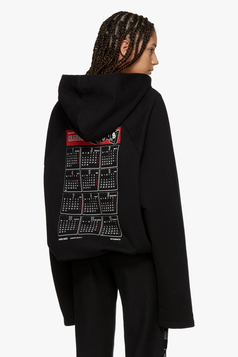 Vetements Spring/Summer Collection Drop Hoodie Back