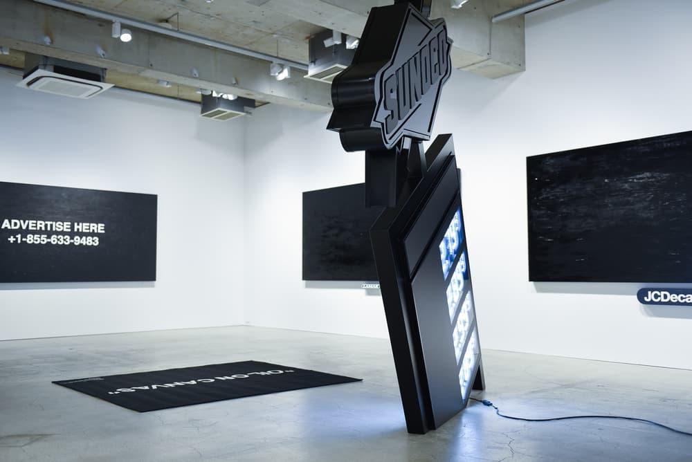 Virgil Abloh PAY PER VIEW Exhibit Kaikai Kiki Gallery Tokyo
