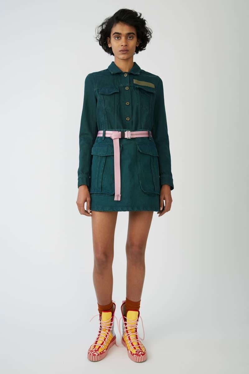Acne Studios Bla Konst Spring/Summer 2018 Lookbook Denim Jackets Sweaters