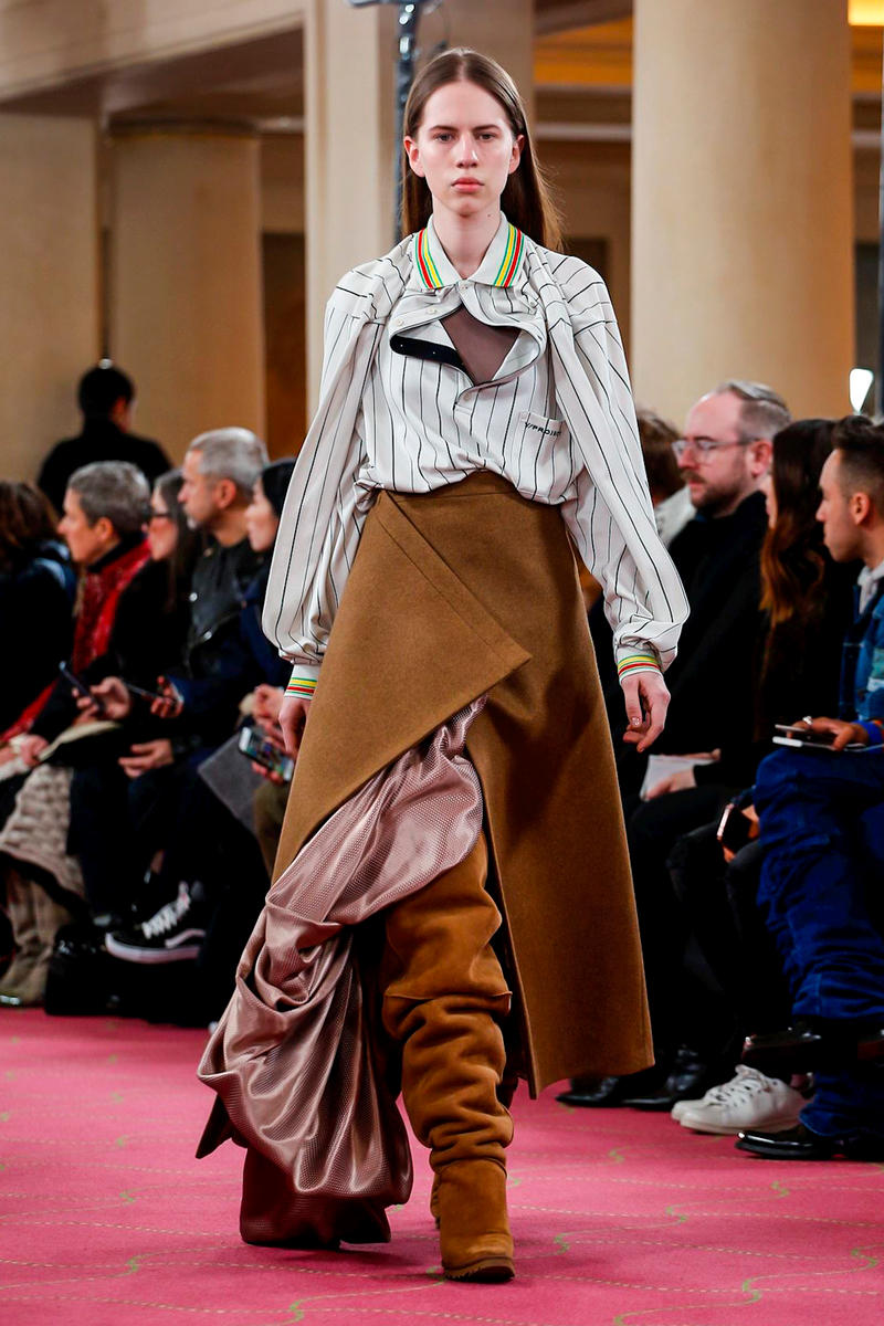 Y/Project Fall Winter 2018 Paris Fashion Week Show Collection