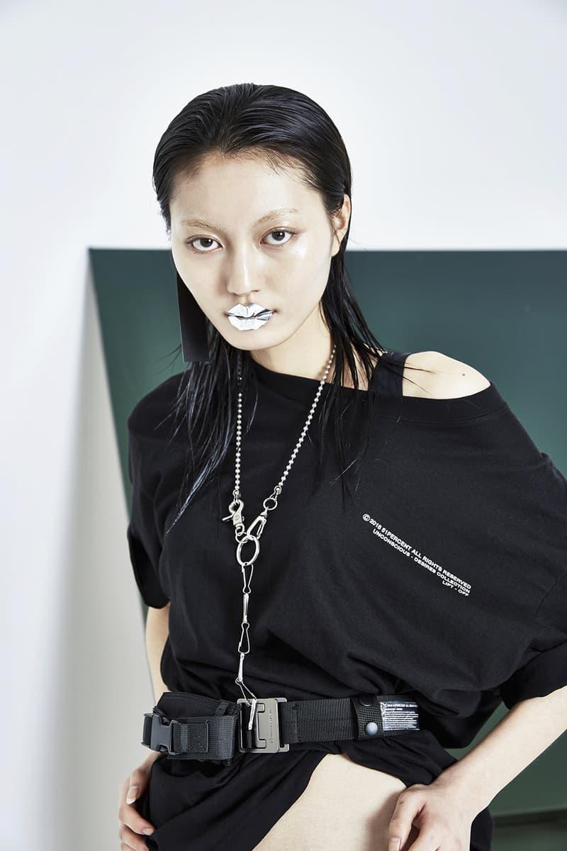 51PERCENT Spring/Summer 2018 Collection Lookbook T-Shirt Black