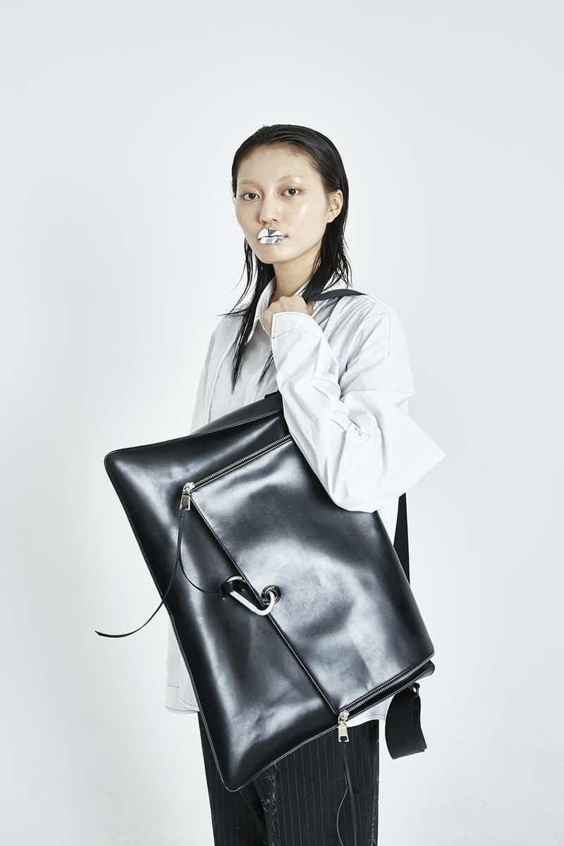 51PERCENT Spring/Summer 2018 Collection Lookbook Oversized Cross Bag Black