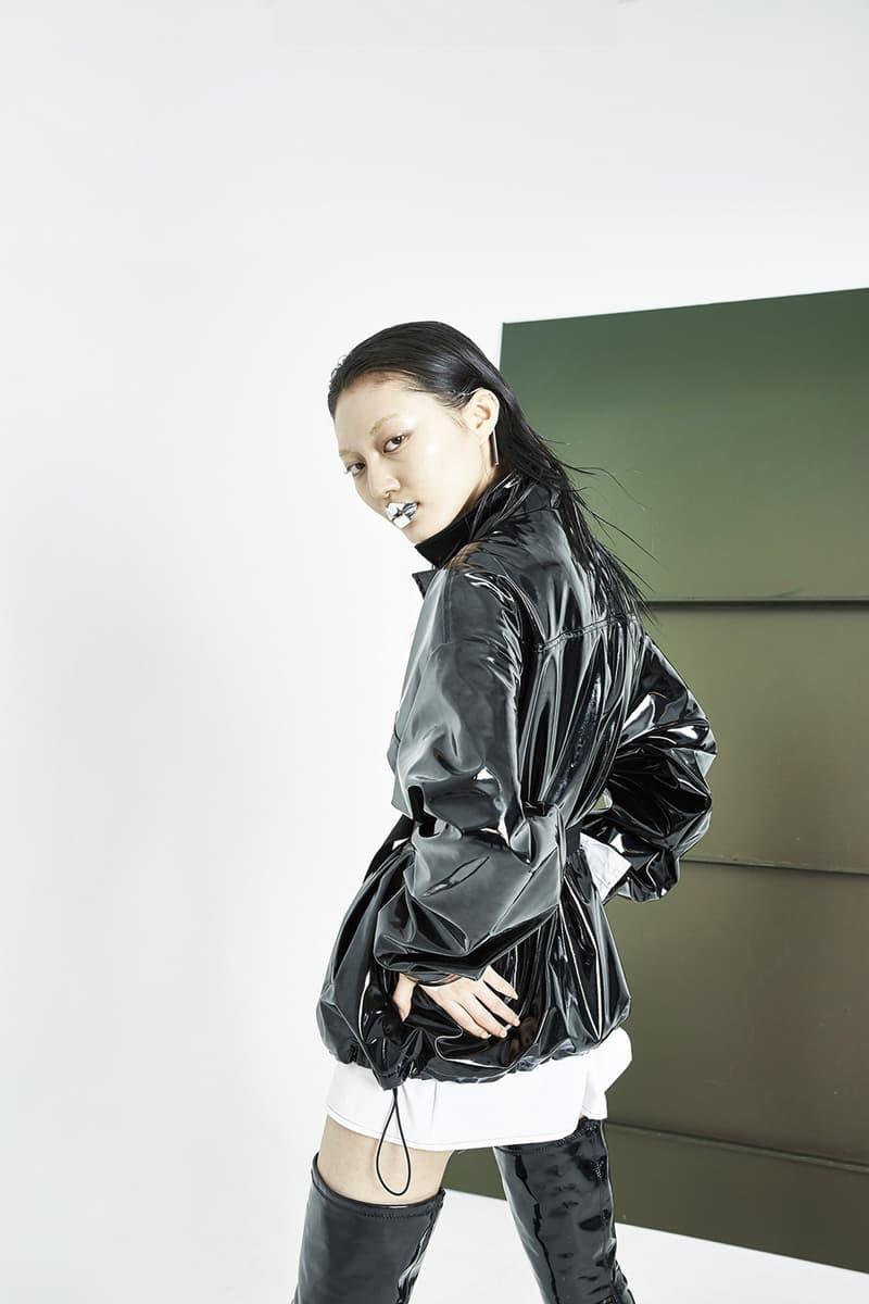 51PERCENT Spring/Summer 2018 Collection Lookbook Enamel Coach Jacket Black