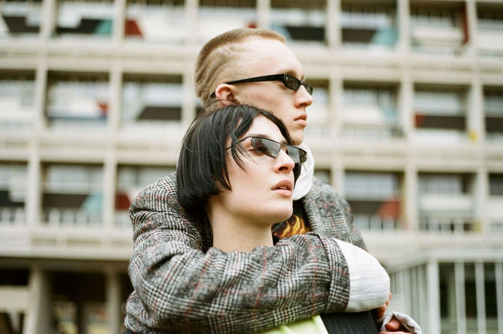 Ace & Tate Futuristic Sunglasses in Pris and Neo Yellow Black Red Sci-Fi Movie Characters